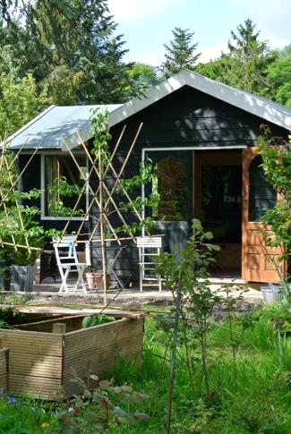 Tuinhuisje van Nanna Lahn