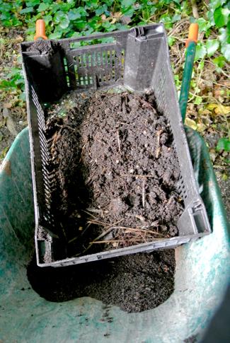 compost zeven