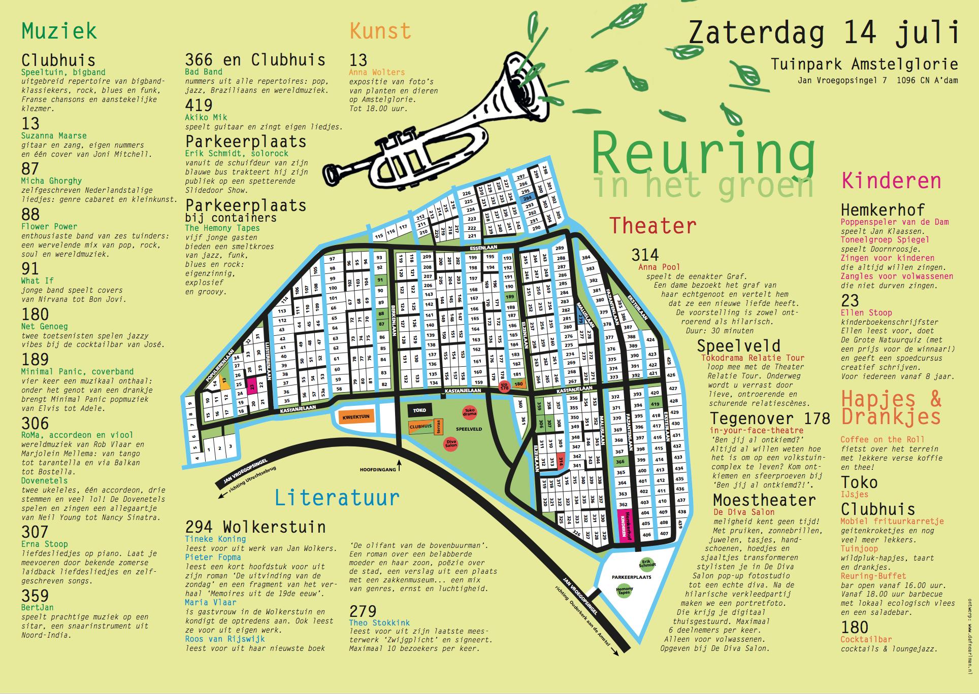 Amstelglorie Reuring in het Groen